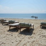 spiaggia in kenya
