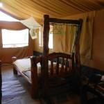 tenda nella savana