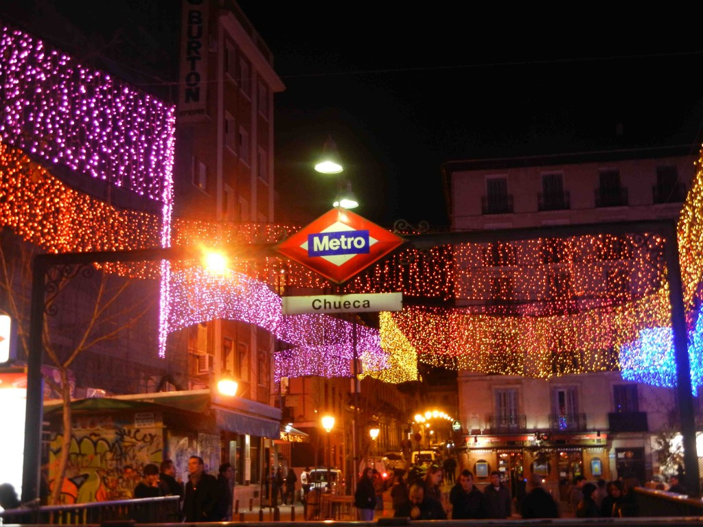 il quartiere della chueca a Madrid