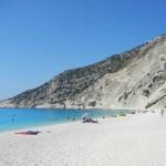 spiaggia bianca myrthos