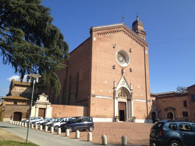 siena chiesa di san francesco