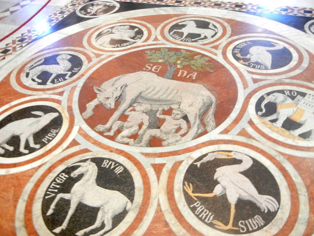 pavimenti mosaici duomo di siena
