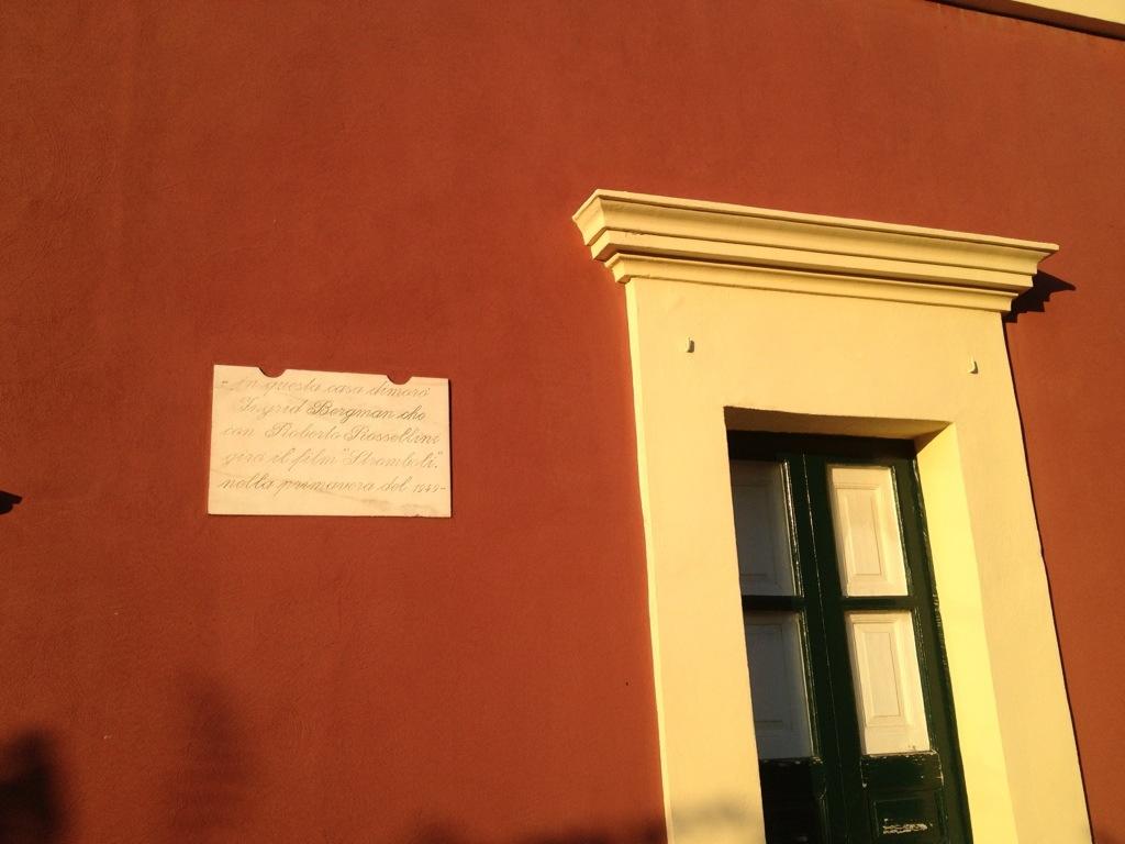casa rossellini e bergman a stromboli
