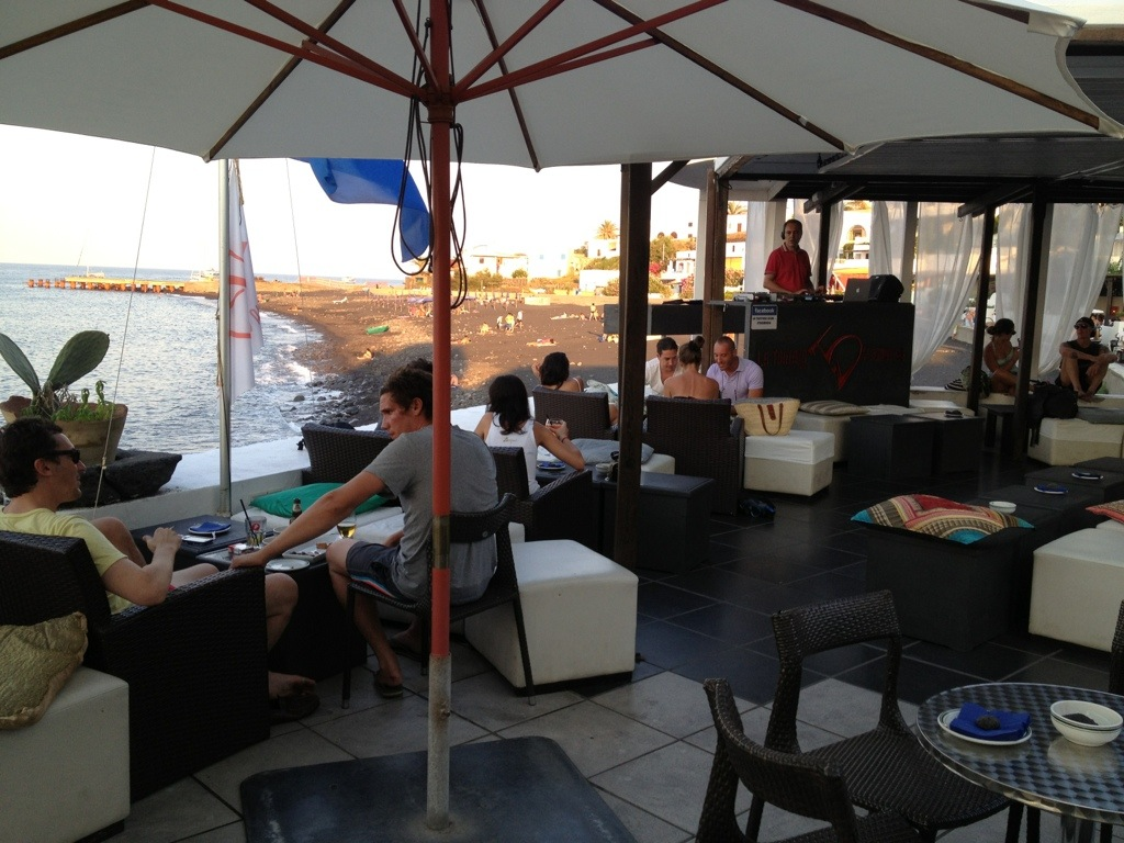 fare un aperitivo a Stromboli
