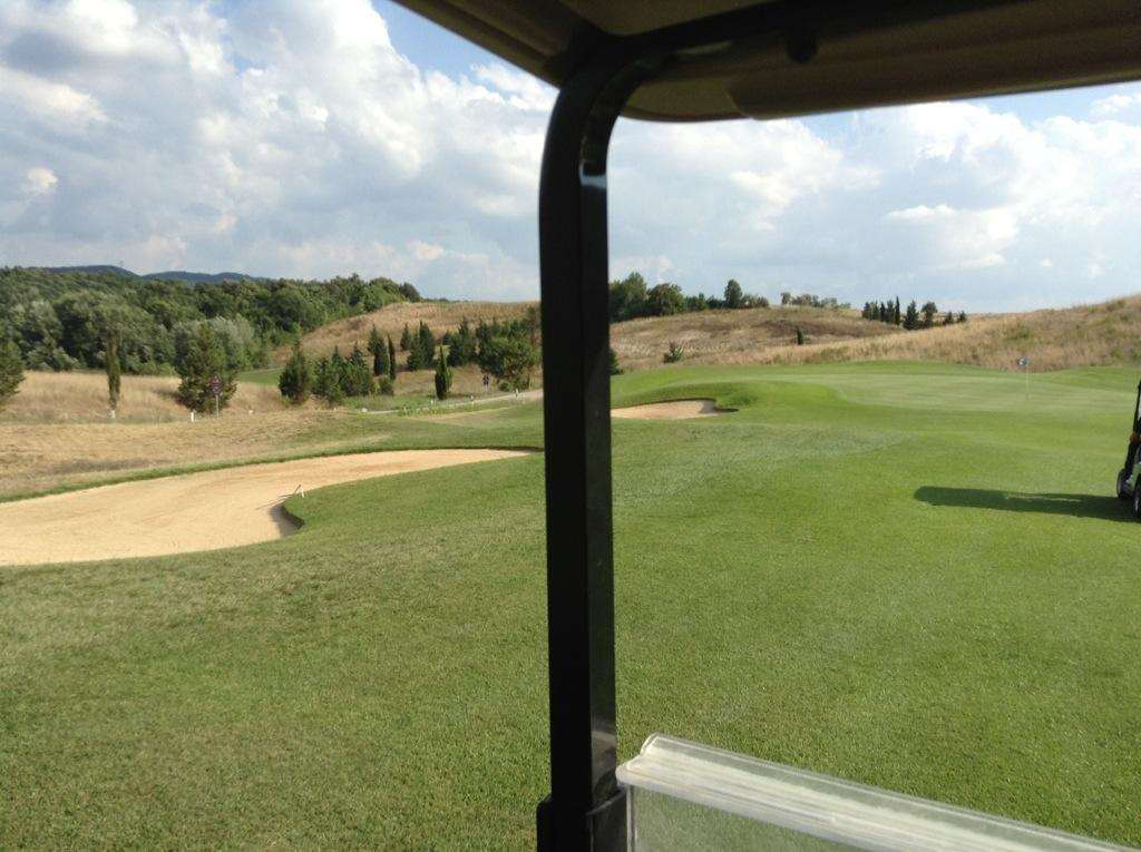 campo da golf 18 buche in Toscana