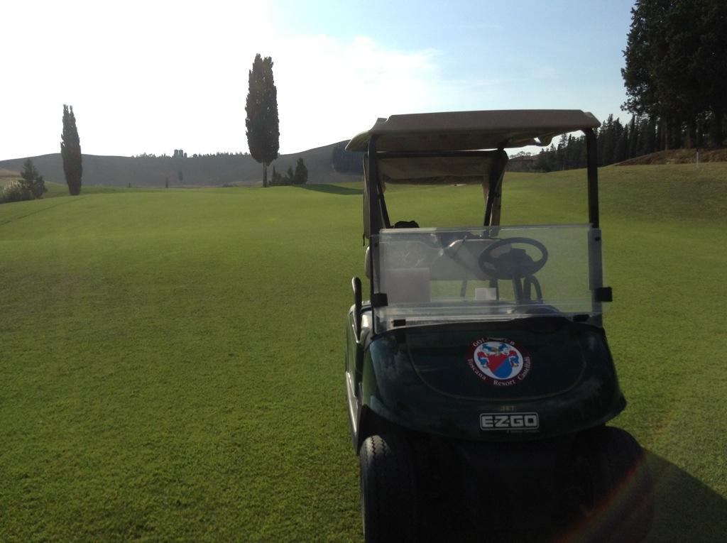 Golf Castelfalfi fra Firenze e Pisa