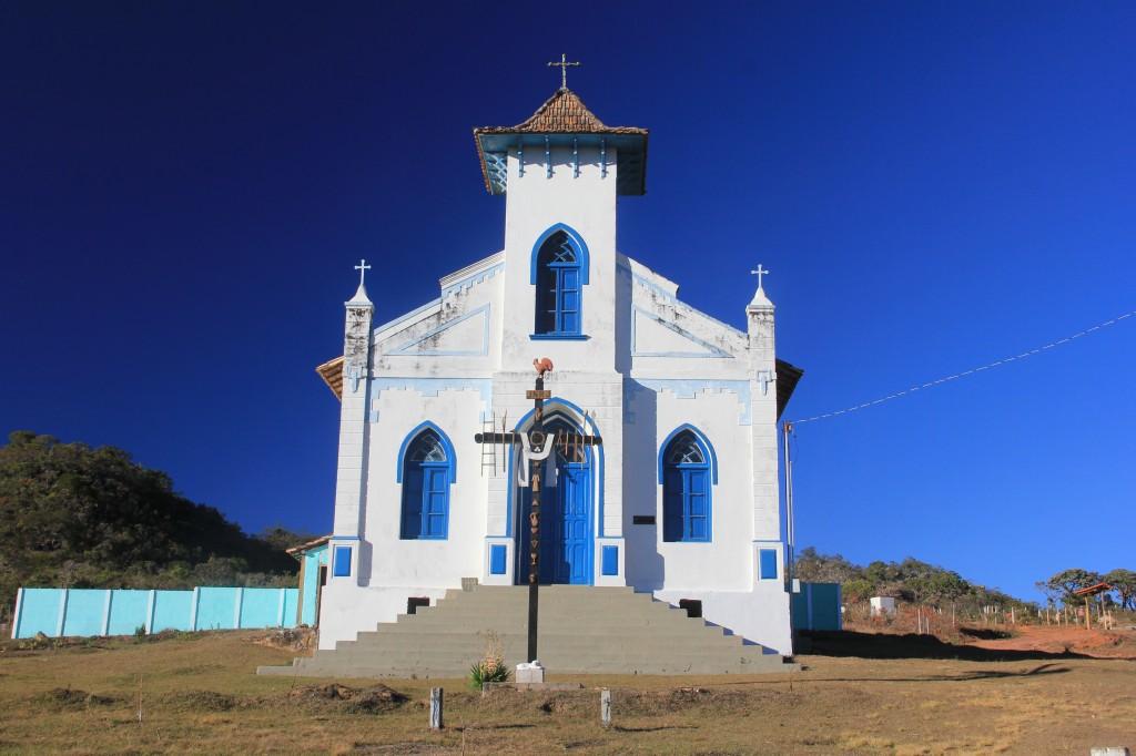 Brasile, Cerrado, chiesa di Baron