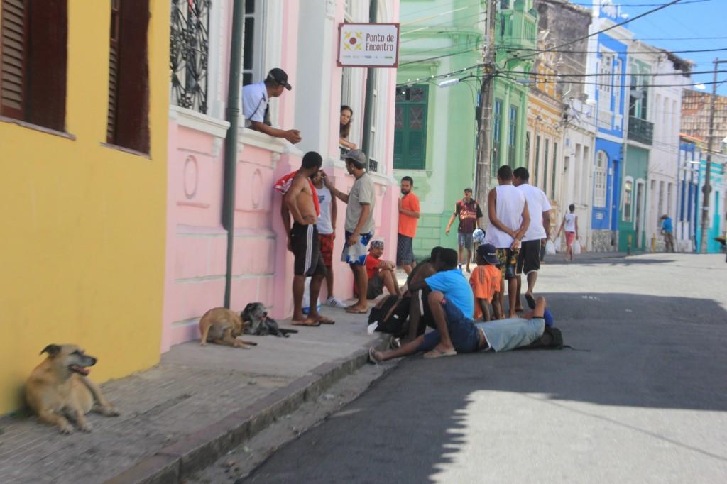 Bahia: zona del Pelourinho