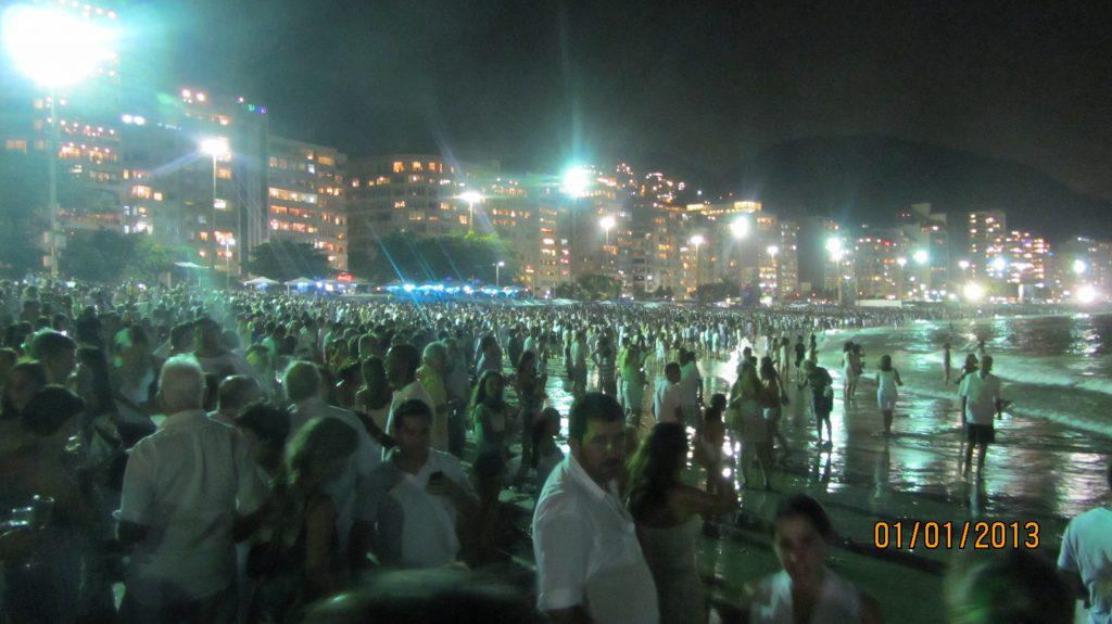 Capodanno in bianco a Copacabana
