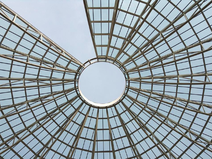 la cupola del mart a rovereto