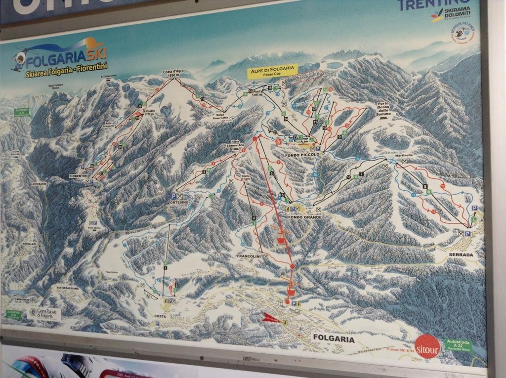 folgaria per sciare