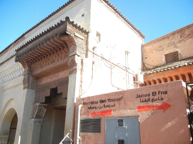orientarsi a marrakech