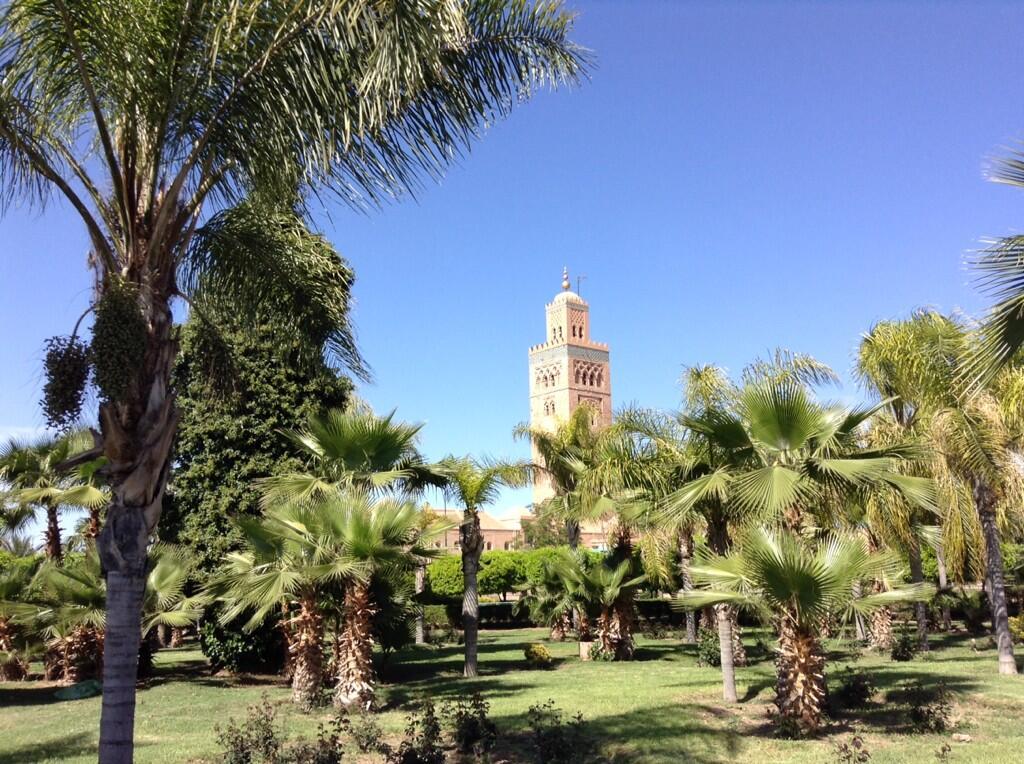 giardini dietro moschea koutobia