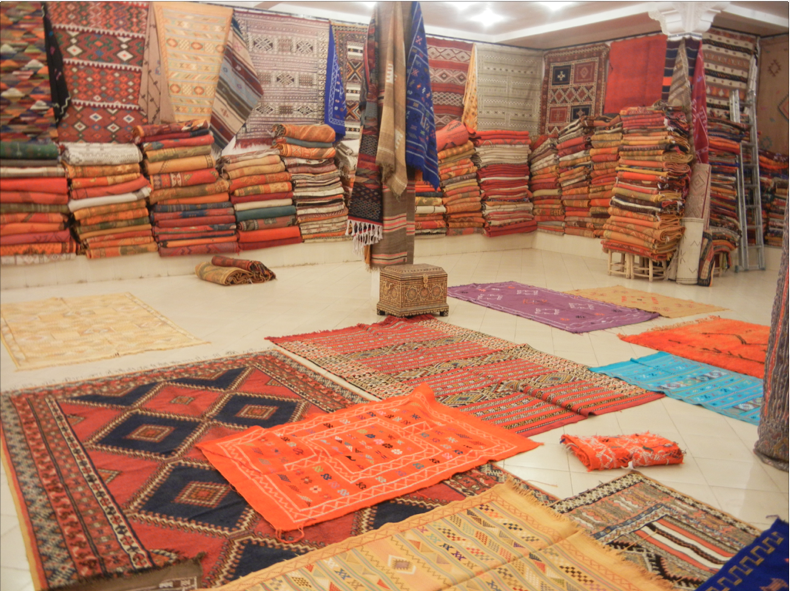 Tappeti Marocco Antichi: Tappeto berbero luci del marocco.