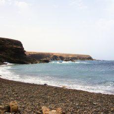 spiaggia nera di Pozo Negro