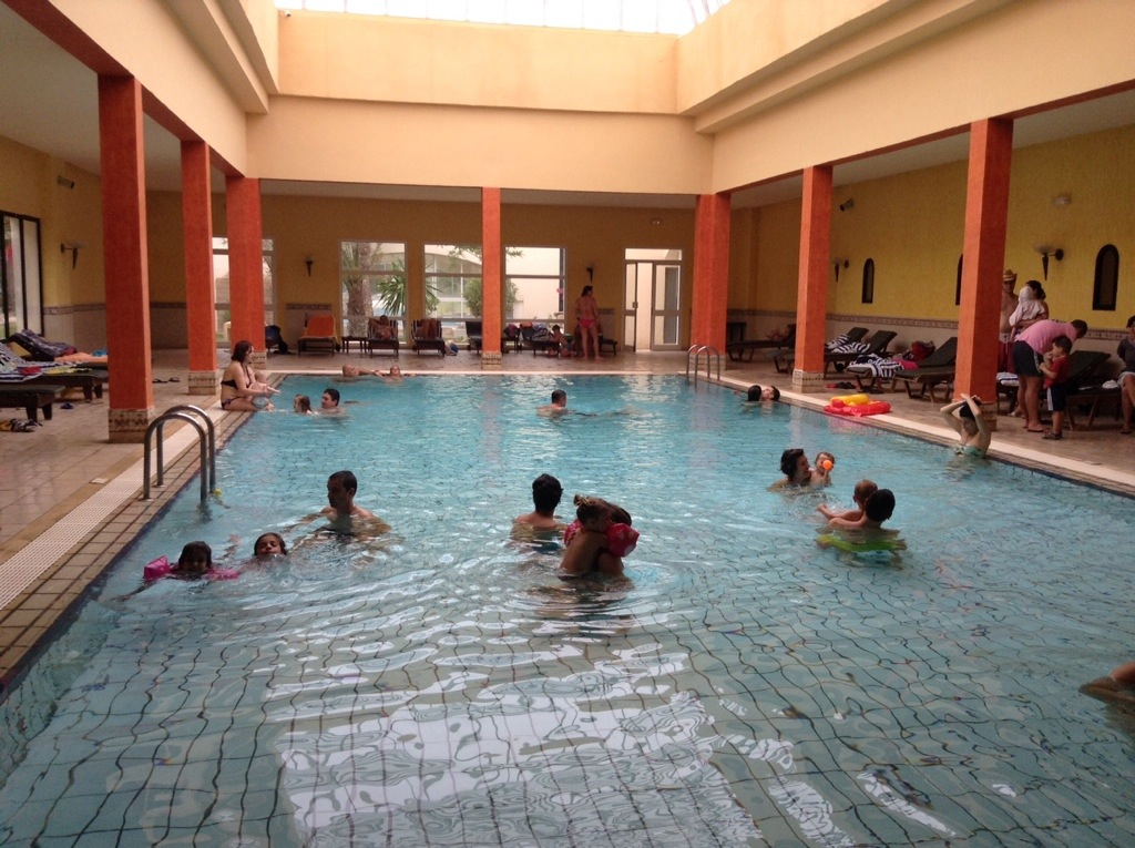 piscina riscaldata