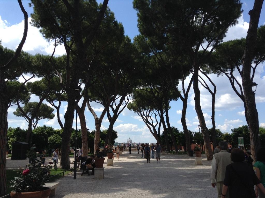 A roma cercando la grande bellezza io amo i viaggi - Il giardino degli aranci frattamaggiore ...