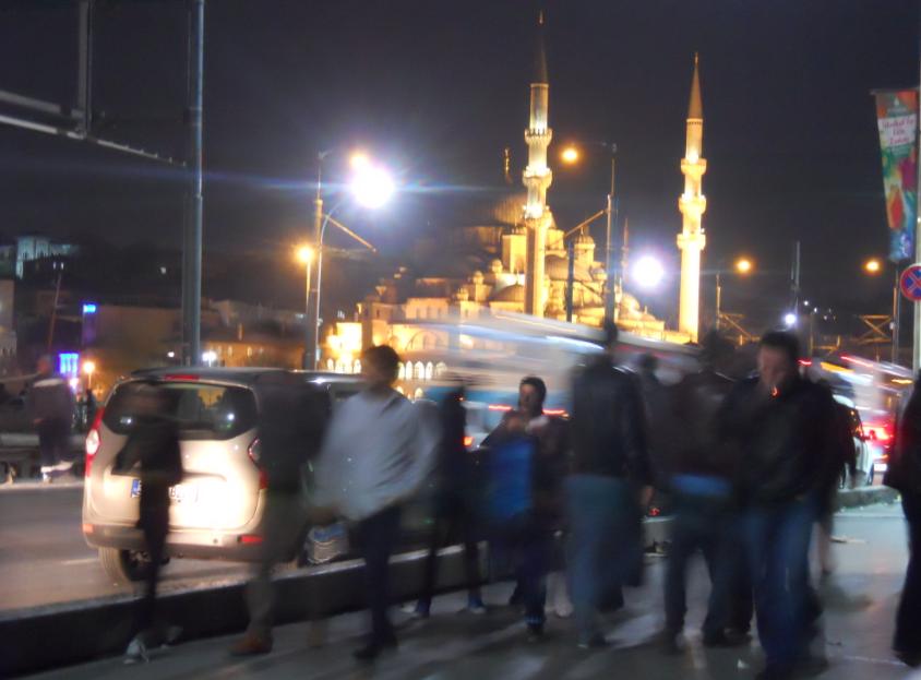 il caos di istanbul in turchia