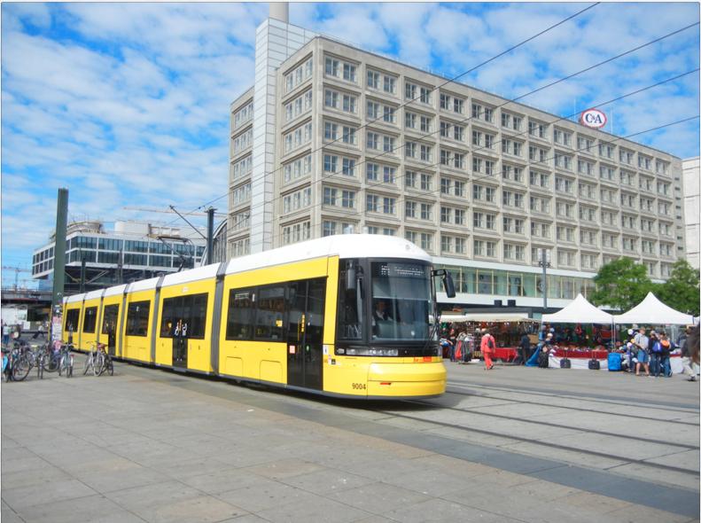 tram a berlino