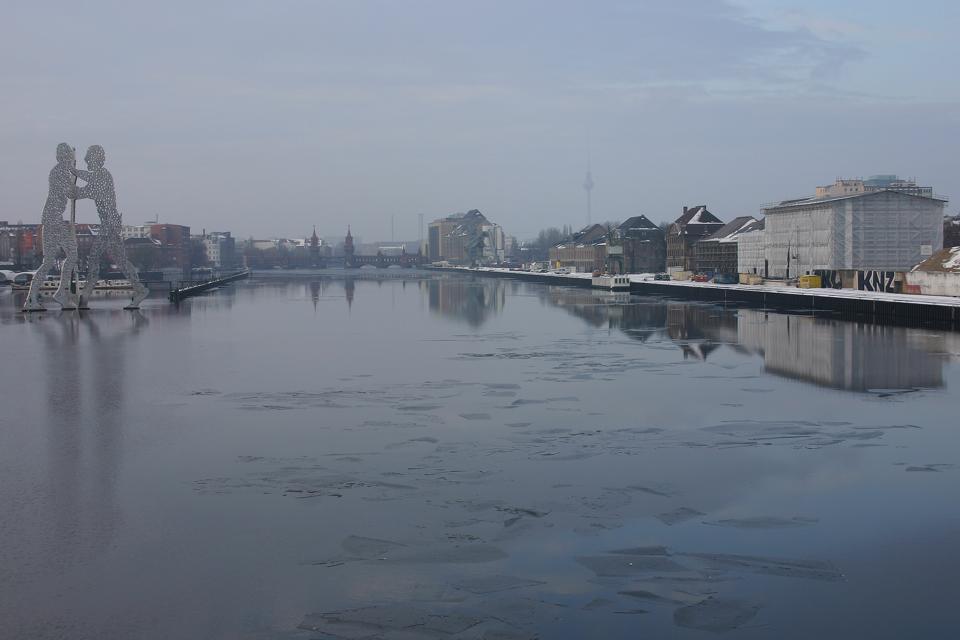 Berlino sotto la neve