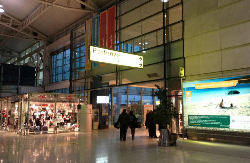 aeroporto partenze