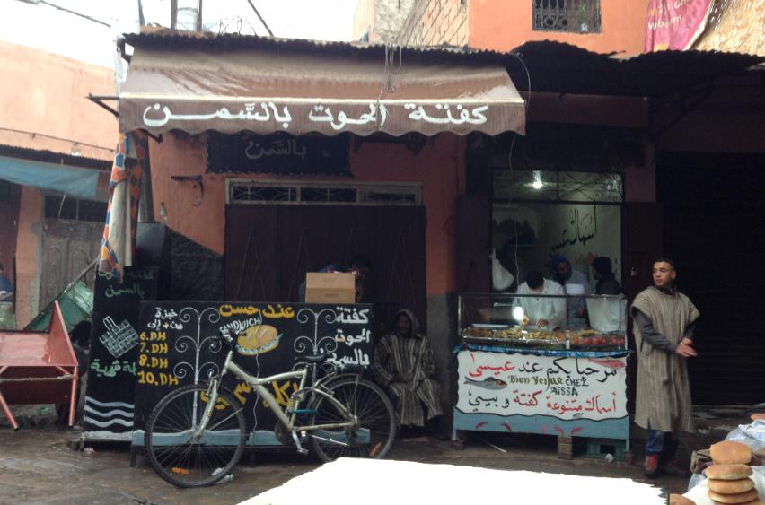 street food a marrakech