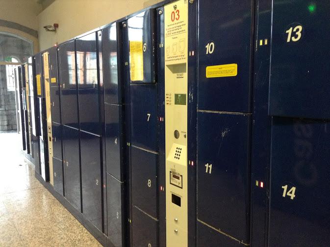 lockers stazione gent