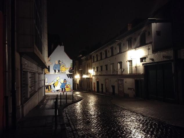 murales fumetti nei marolles
