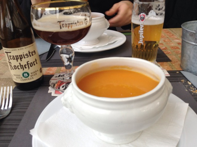 zuppa da krebbe