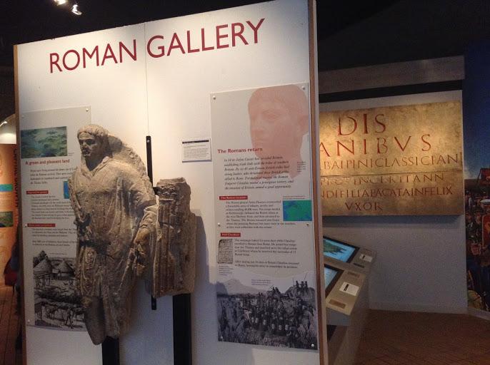 stanze romane al museo di londra