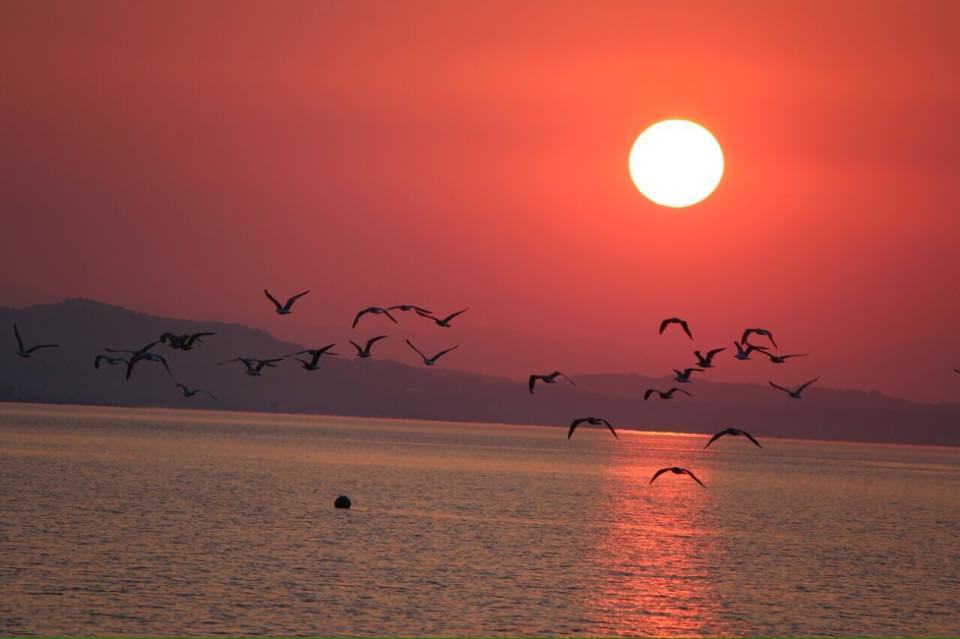 cariati marina provincia di cosenza tramonto sulla spiaggia del vascellero