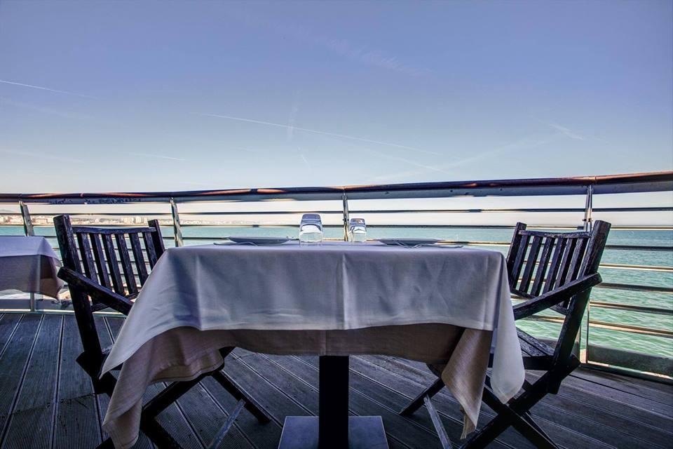 pranzare sul mare