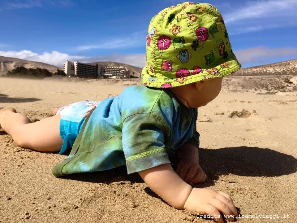 oliver in spiaggia