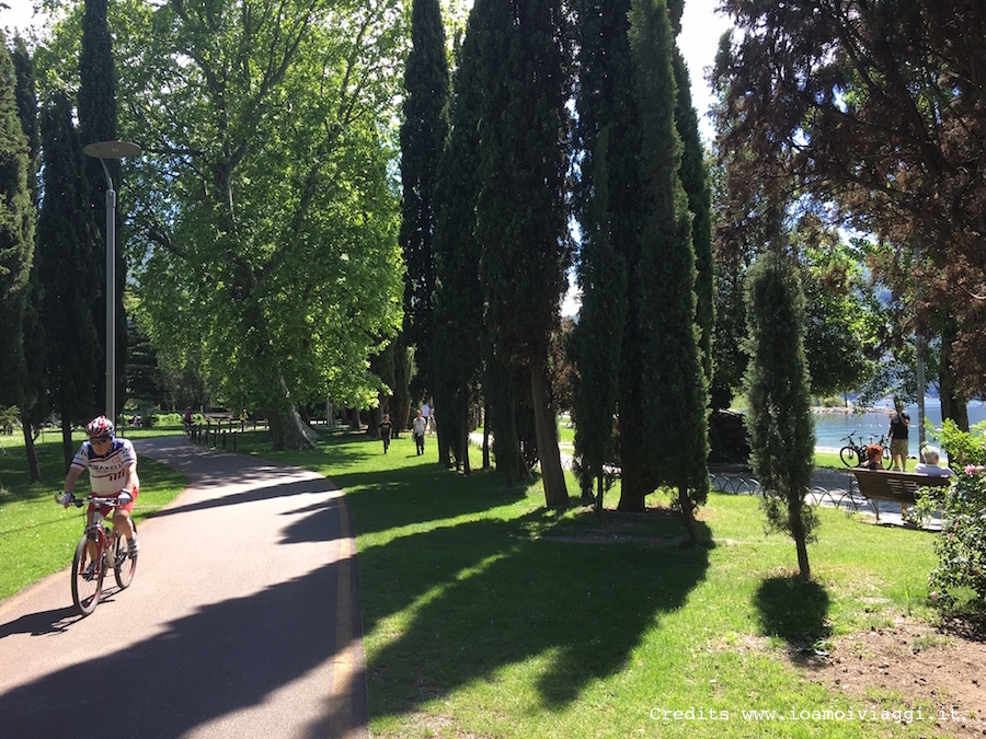 pedalando sul Garda