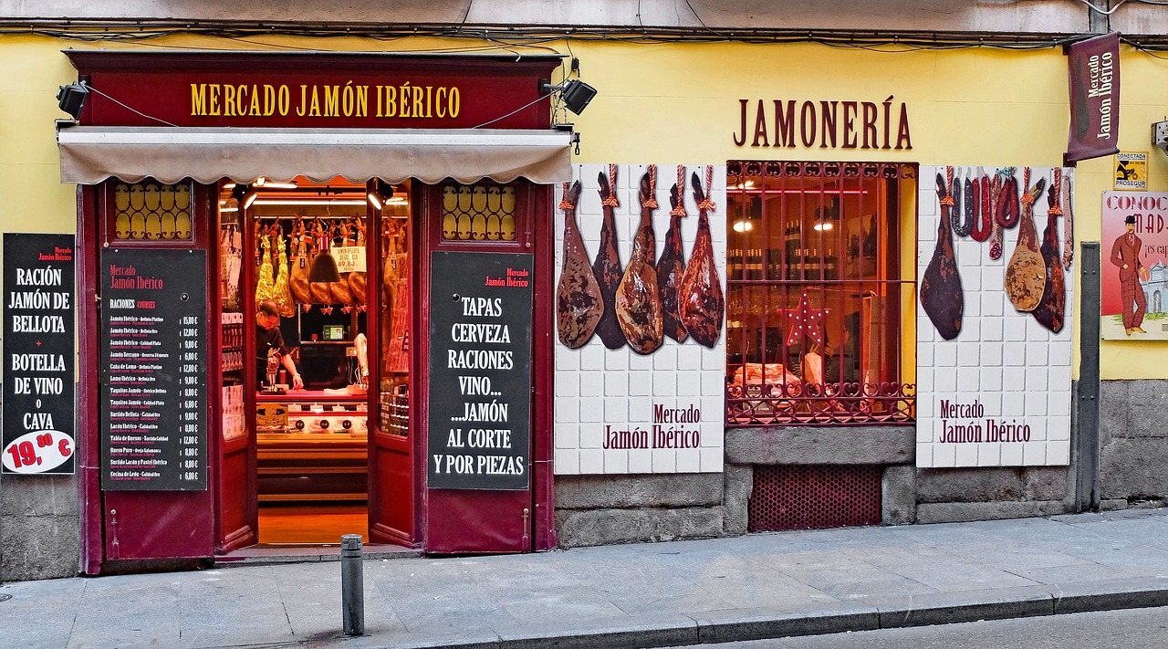 Food Madrid Spagna