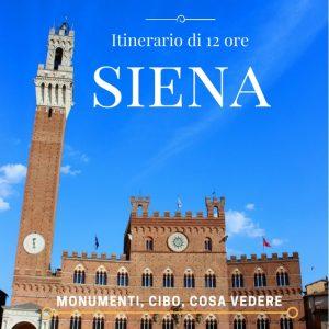 1 giorno a Siena cosa vedere