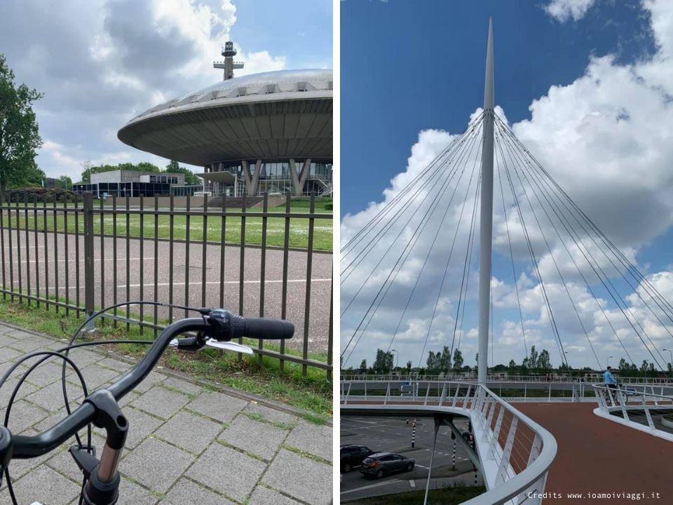 in bici in olanda
