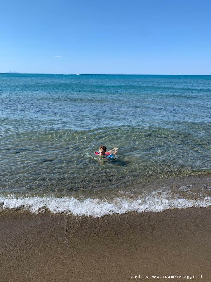 spiaggia per bambini