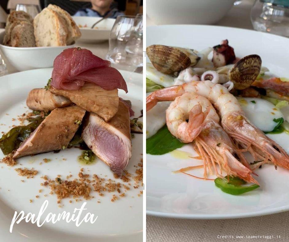 ristorante di pesce vista mare