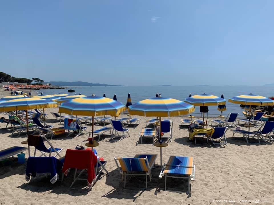 mare toscana la mazzanta spiaggia attrezzata
