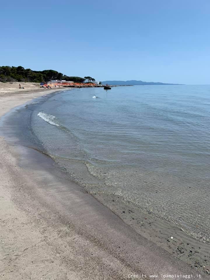 spiaggia adatta ai bambini piccoli in toscana
