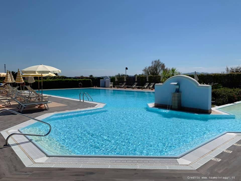 residence al mare con piscina