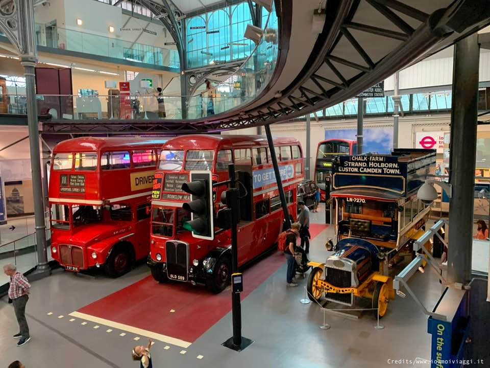 autobus storici a londra