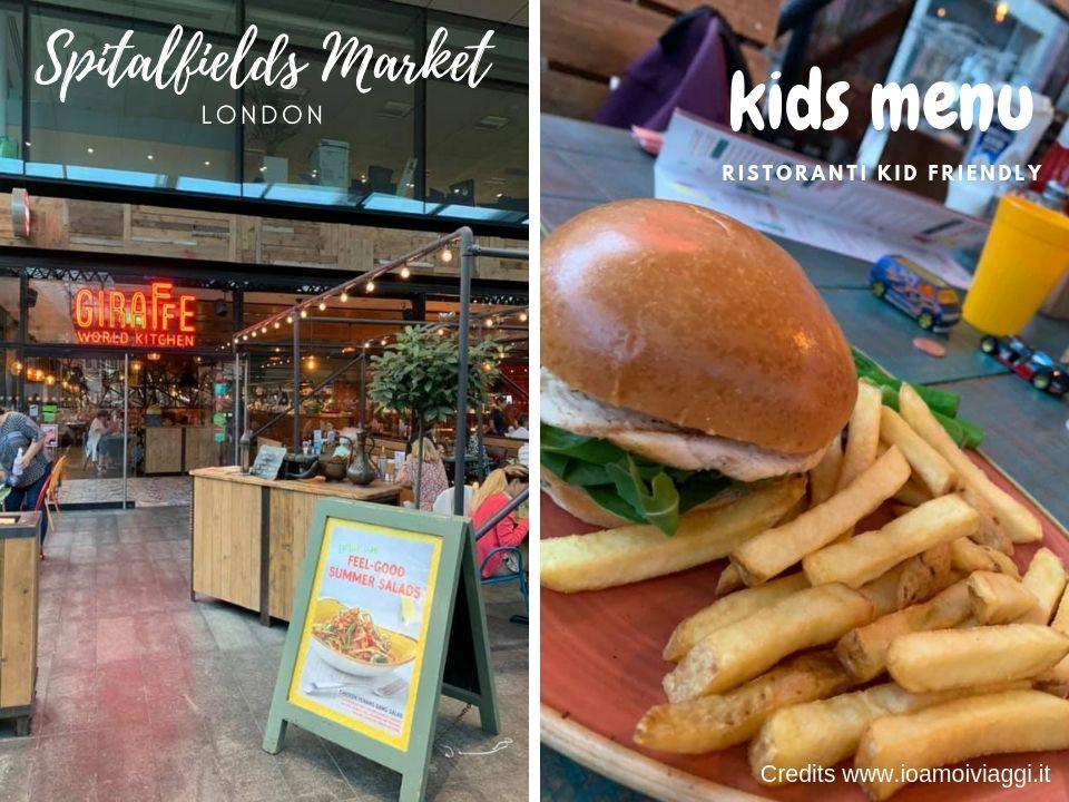 ristoranti per bambini a londra