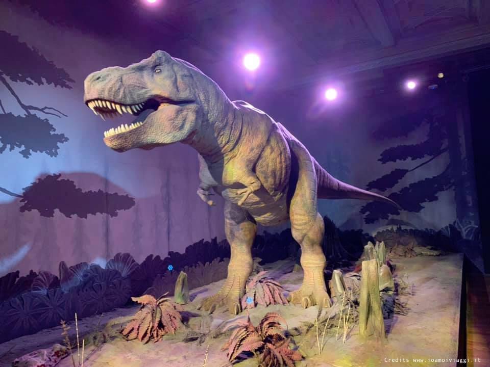 t rex museo dei dinosauri londra