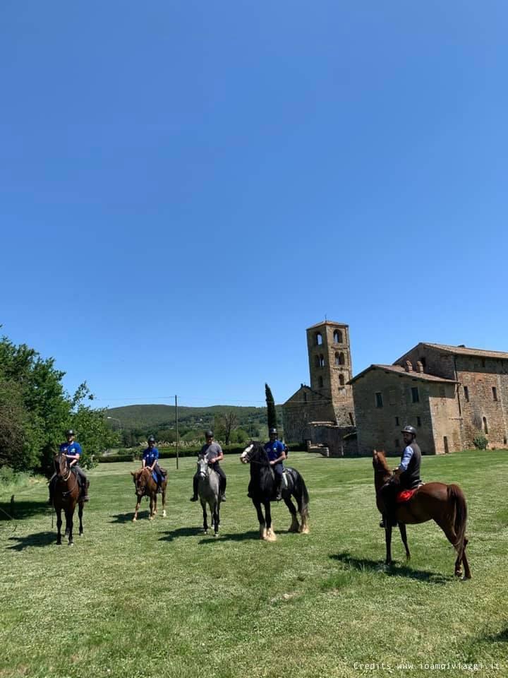 escursioni a cavallo in toscana