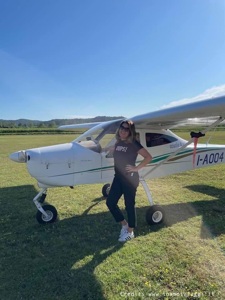 volo in aereo biposto